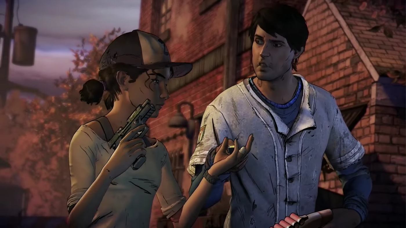 Walking Dead Season 3 Clem & Javi