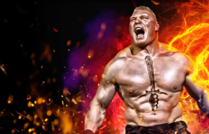 Brock Lesnar is the Cover Athlete of WWE 2K17