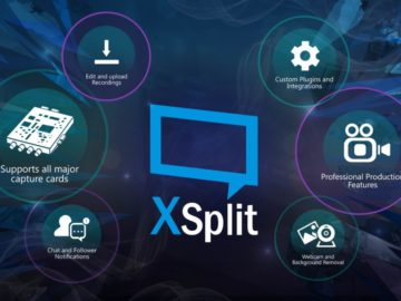 Game Broadcast Software XSplit Now Offered Through Steam