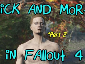 Fan Creates New Rick and Morty Episode Through Fallout 4