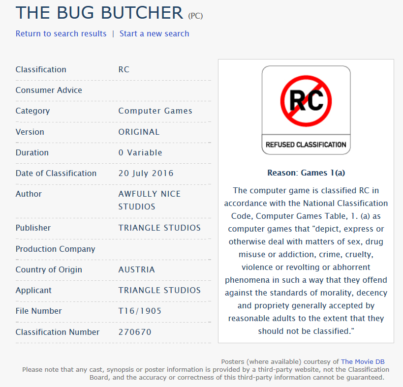 BugButcherClassification