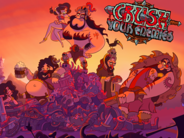 Now Available: Crush Your Enemies