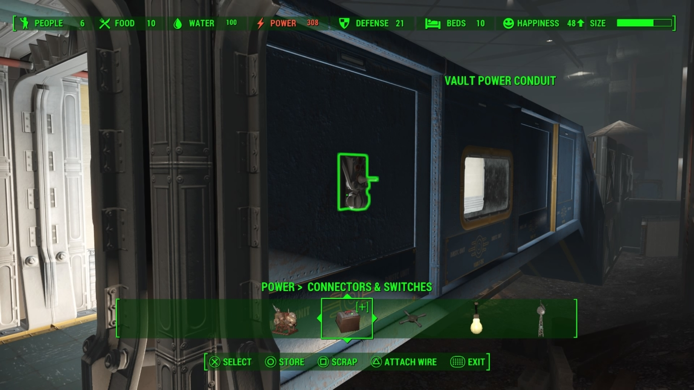 fallout 4 vault tec how to power your vault rooms lights rh gameranx com Fallout 4 Vault 88 Location fallout 4 wiring vault 88