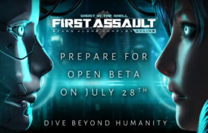 Open Beta for Ghost in the Shell Online Game is Coming Soon