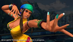 The King of Fighters XIV New Screenshots Showcases Character Zarina