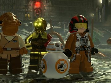 LEGO Star Wars: The Force Awakens Debuts At No.1; Fourth Biggest LEGO Game Launch