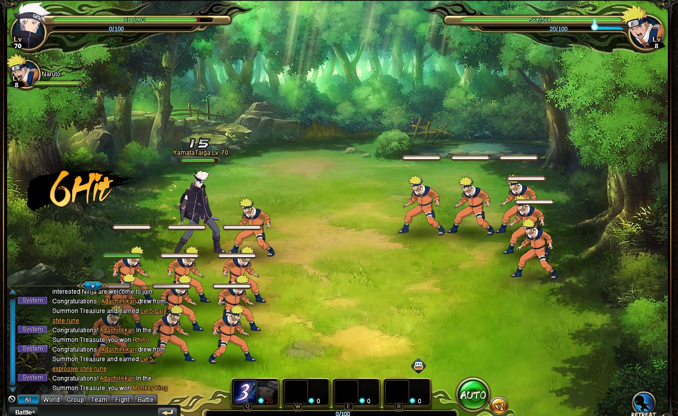 Now Available: Naruto Online - Gameranx
