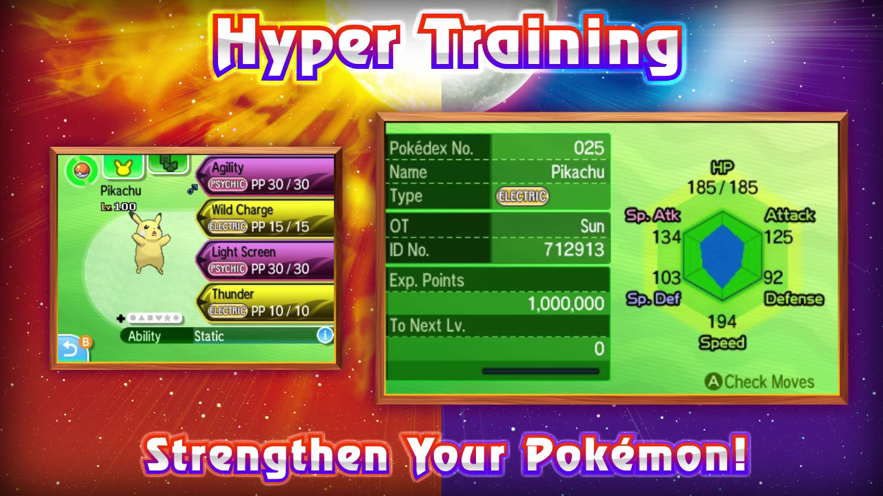 PokemonSunMoonHyperTraining