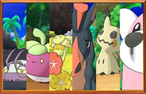 Six New Sun and Moon Pokemon Revealed! (And New Gameplay Features)
