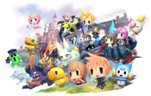 World of Final Fantasy Gets Fancy Collector's Edition