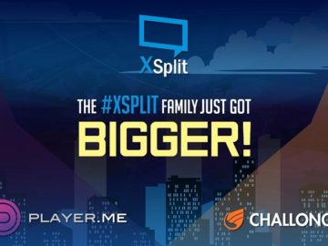 XSplit Acquires Player.me & Challonge