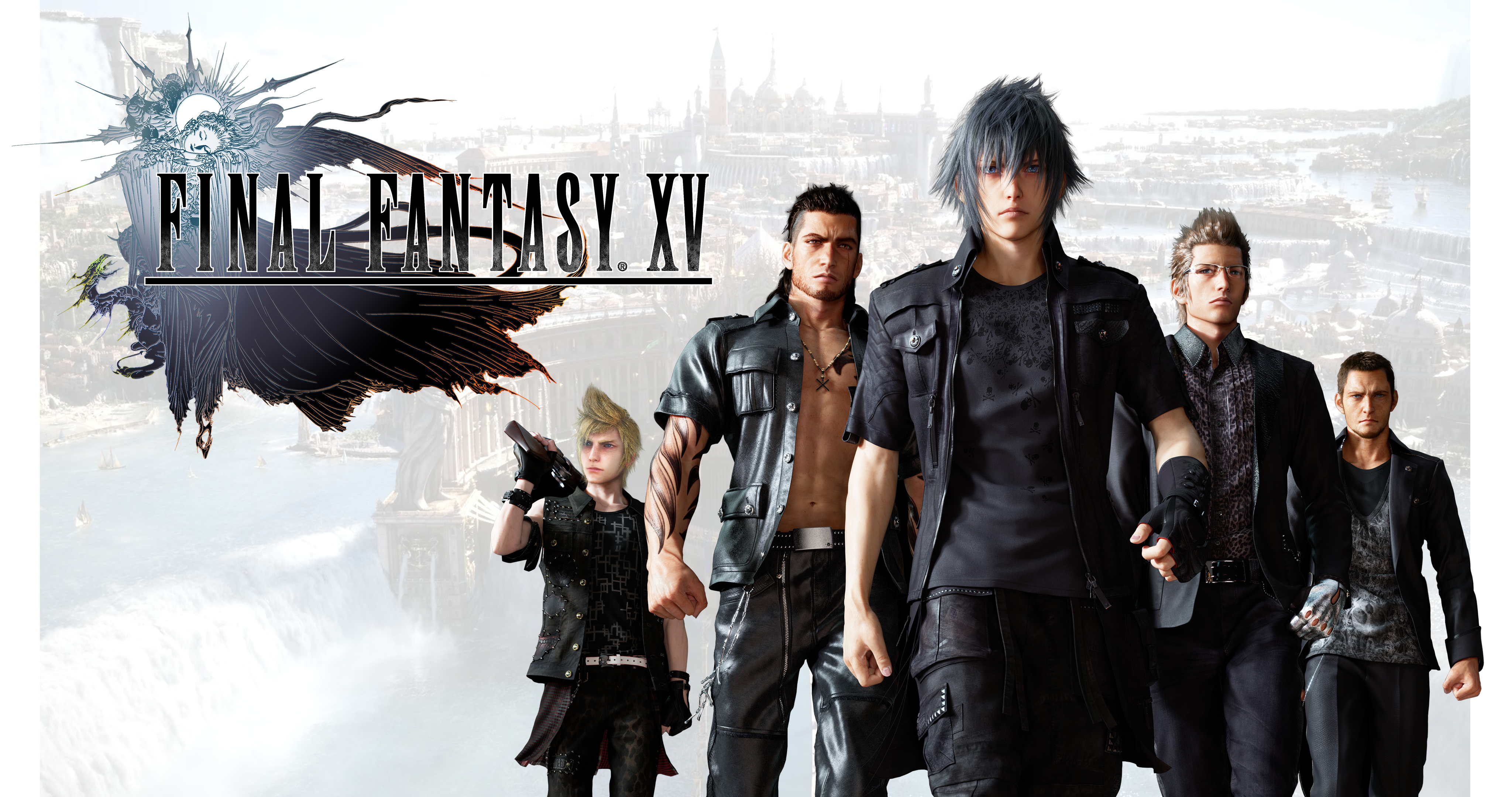 Final Fantasy Xv Characters Video Game 4k Hd Desktop: Square Enix Teases Shadowy Figures In Final Fantasy XV Box