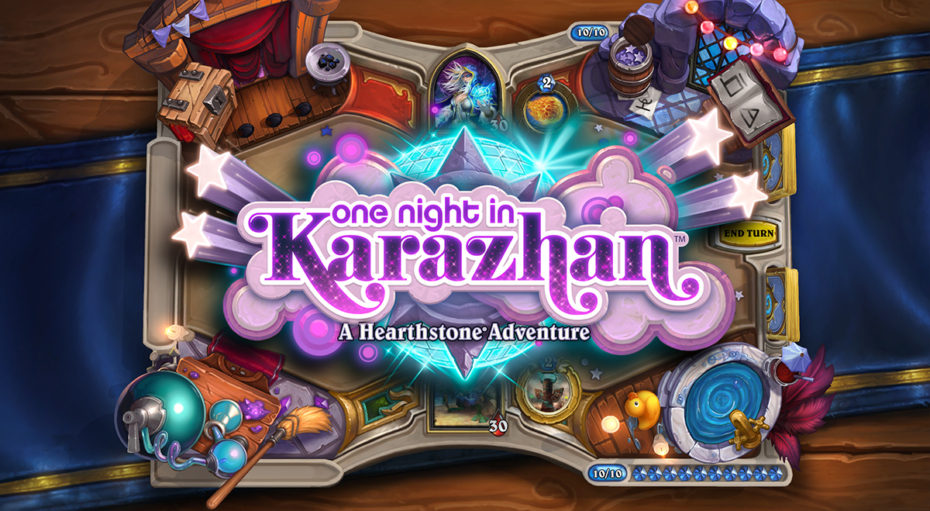 "New Hearthstone Single-Player Adventure: ""One Night in Karazhan"""