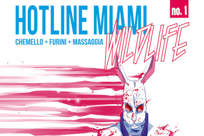 This new comic book series is set in the same universe as the Hotline Miami games.