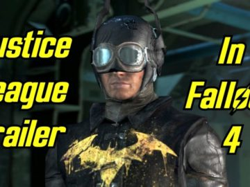 Fan Recreates Justice League Trailer In Fallout 4