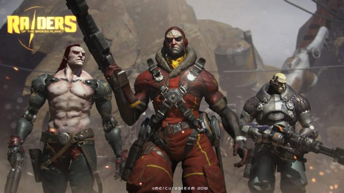 Raiders of the Broken Planet is a third person shooter with cover and melee elements.