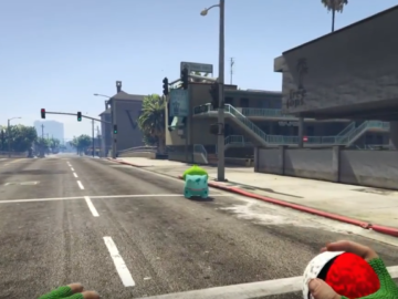 Pokemon Go Invades Grand Theft Auto V