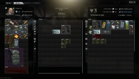 Escape From Tarkov Has A Complex Trading System