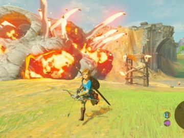 The Legend of Zelda: Breath of the Wild Will Take 40% Of Switch Internal Storage