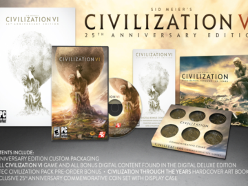 Civilization VI Gets a 25th Anniversary Edition