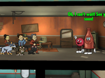 Fallout Shelter Gets 1.7 Nuka-World Update