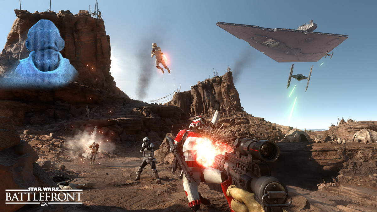 New Star Wars Battlefront Battle Station Mode Detailed