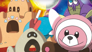 Four New Pokemon Revealed, Continuing the Sun & Moon Announcement Streak