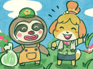 Animal Crossing: New Leaf Update Weed Wacks Your Town