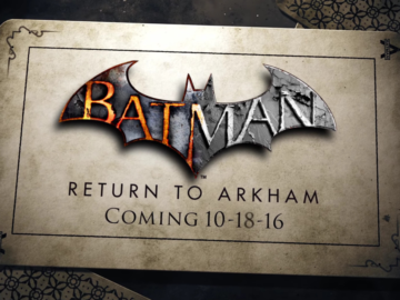Batman: Return to Arkham Arrives in October