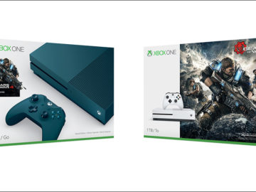 Microsoft Unveils New Gears of War 4 Xbox One S Bundles