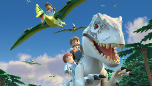 Hijinks Ensue in LEGO Jurassic World: The Indominus Escape