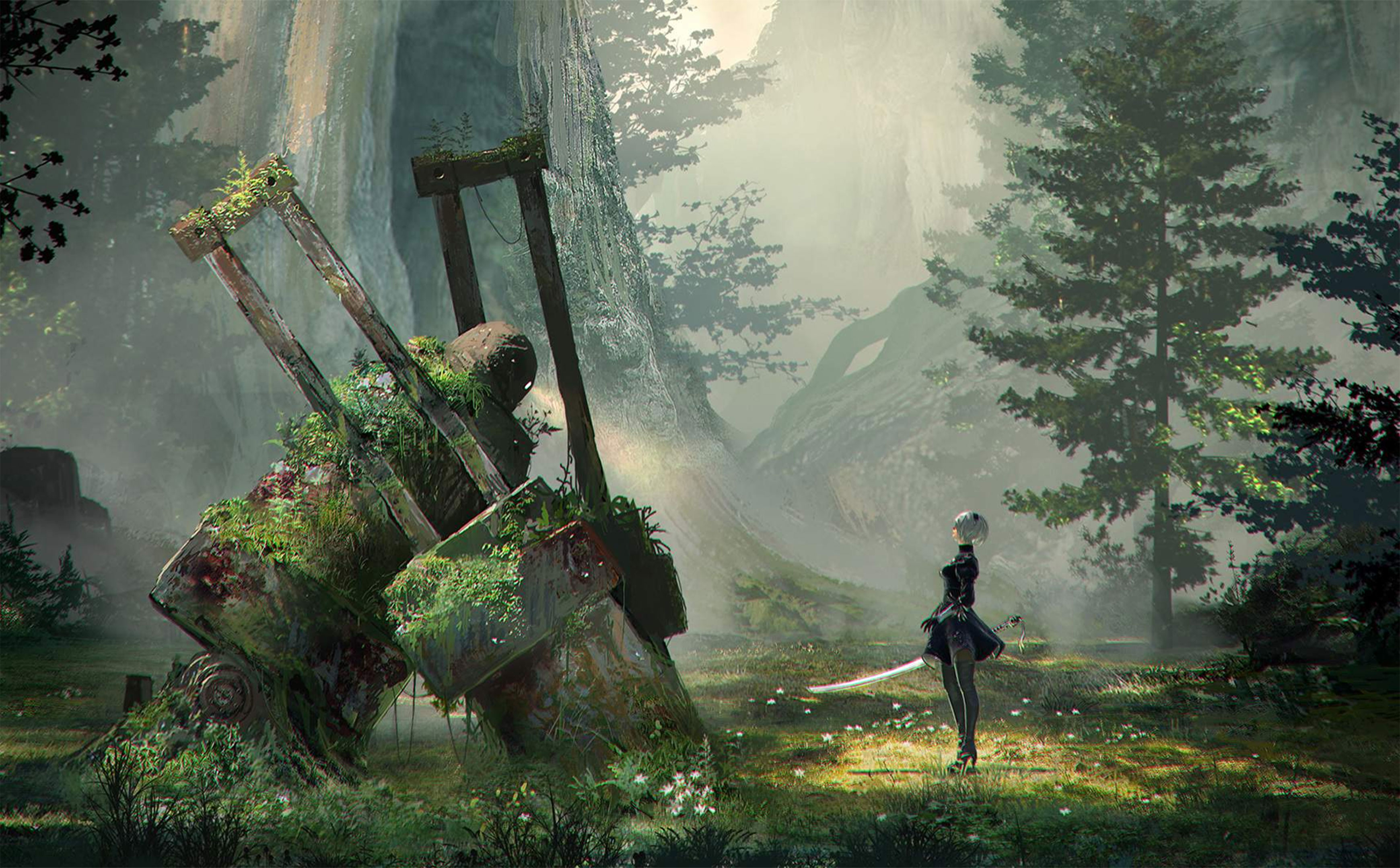 4k Wallpapers For Pc: Nier Automata Wallpapers In Ultra HD