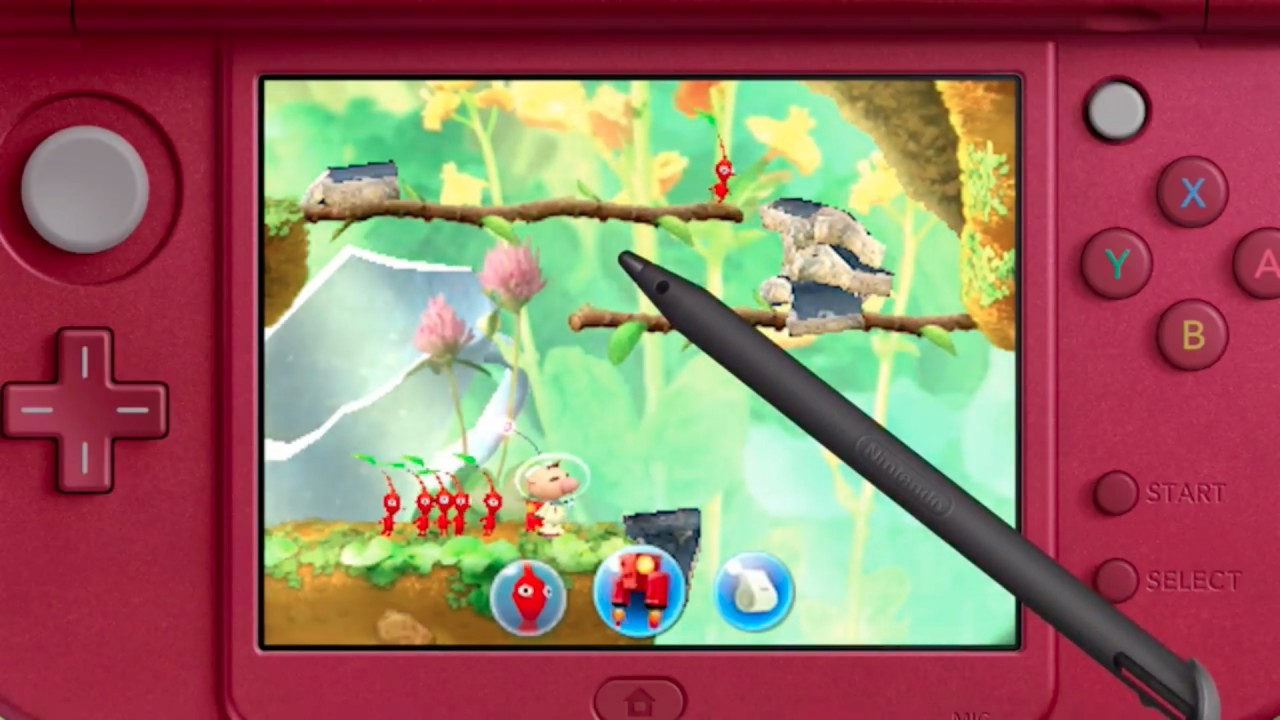Nintendo Reveals Pikmin For The 3DS
