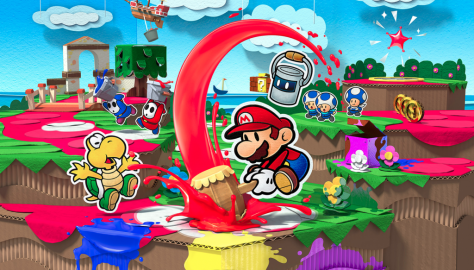Nintendo Releases Detailed Inside Look at Paper Mario: The Origami King