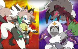 Meet Some of the Version Exclusives of Pokemon Sun and Moon