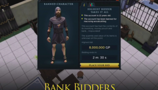 Runescape To Auction Off Banned Player In-Game Bank Accounts