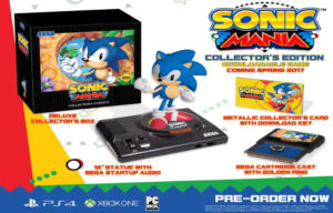 Sonic Mania Getting Collector's Edition