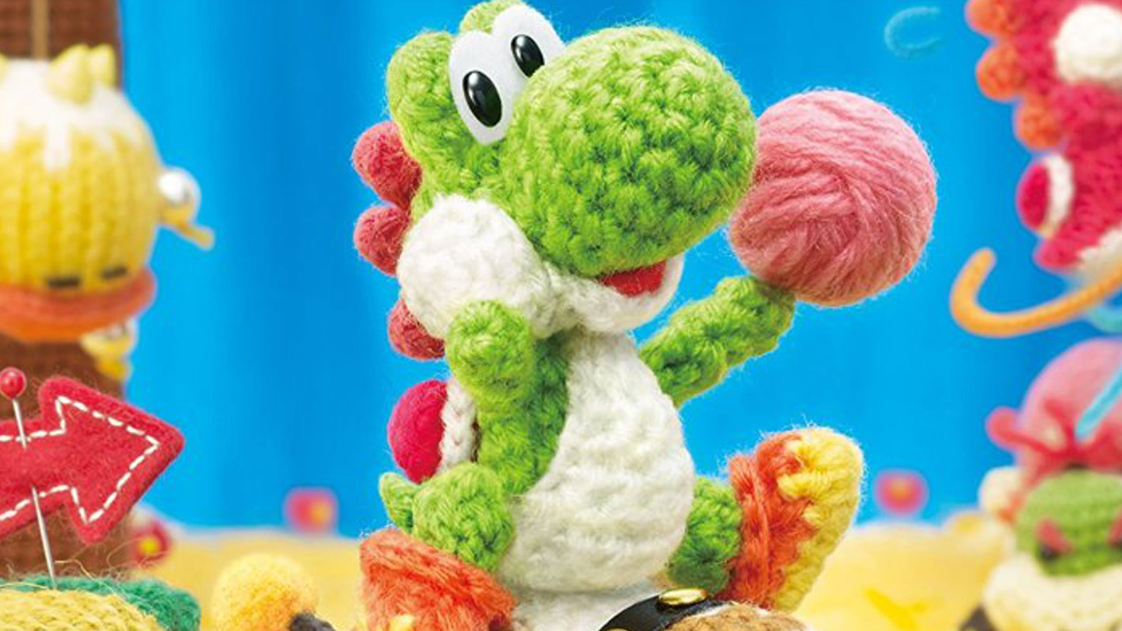 Yoshi's Woolly World 4K Wallpaper ...