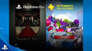 Sony Unveils PlayStation Plus Free Games For October 2016
