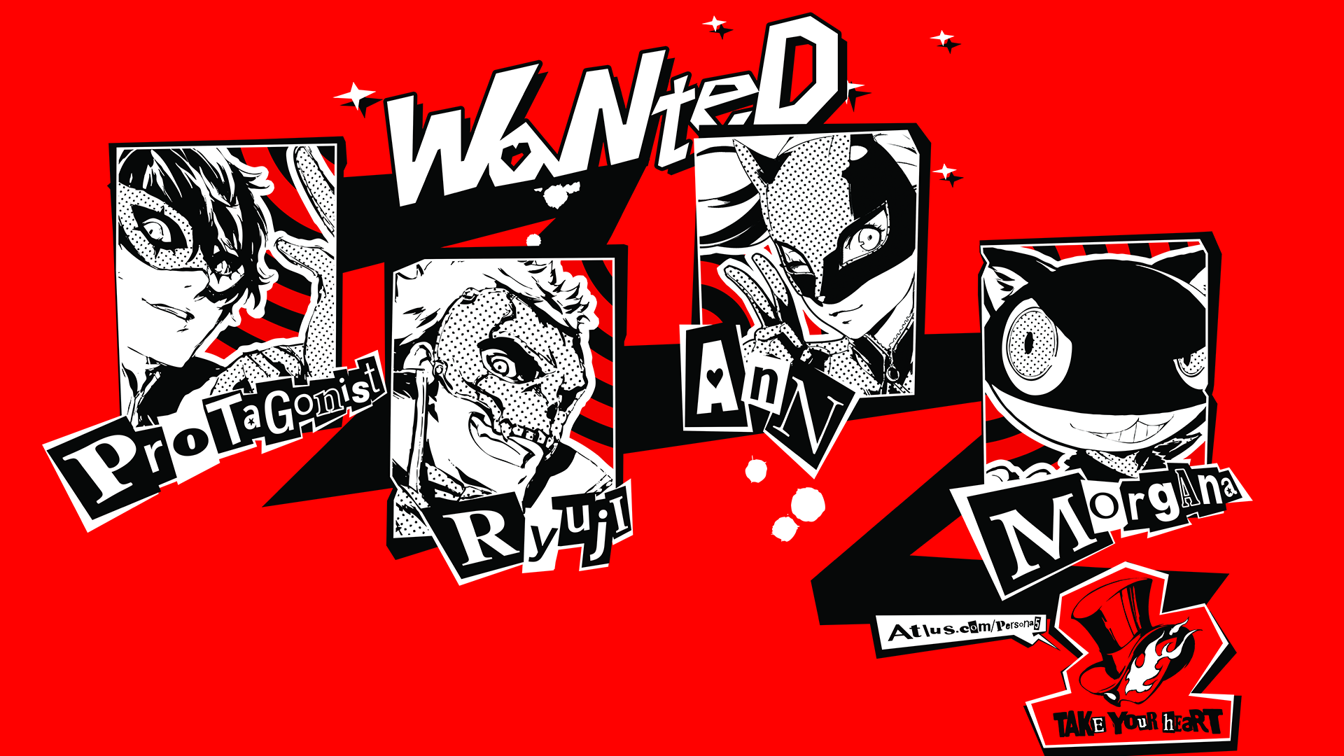 Persona 5 English Voice Cast List Is Out Gameranx Along with the bulbous i dots, commas, and such. persona 5 english voice cast list is