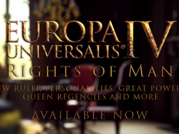 Now Available: Europa Universalis IV – The Rights of Man