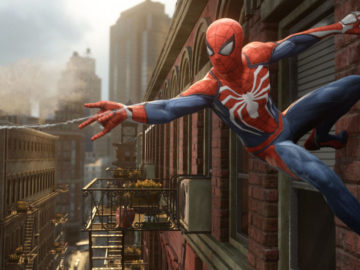 Insomniac Improved Spider-Man After Listening to Fan Feedback; Web Swinging Mechanic Improved Since E3
