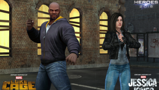 Luke Cage and Friends Arrive to Marvel Heroes 2016