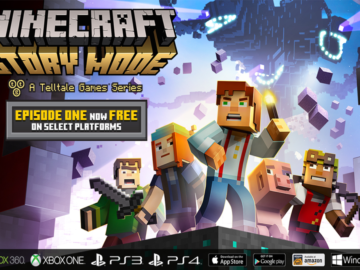 First Episode Now FREE for Minecraft: Story Mode