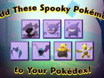 Pokemon Go is Getting a Halloween Event