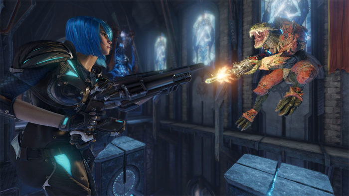 Quake Champions Available Now in Early Access on PC