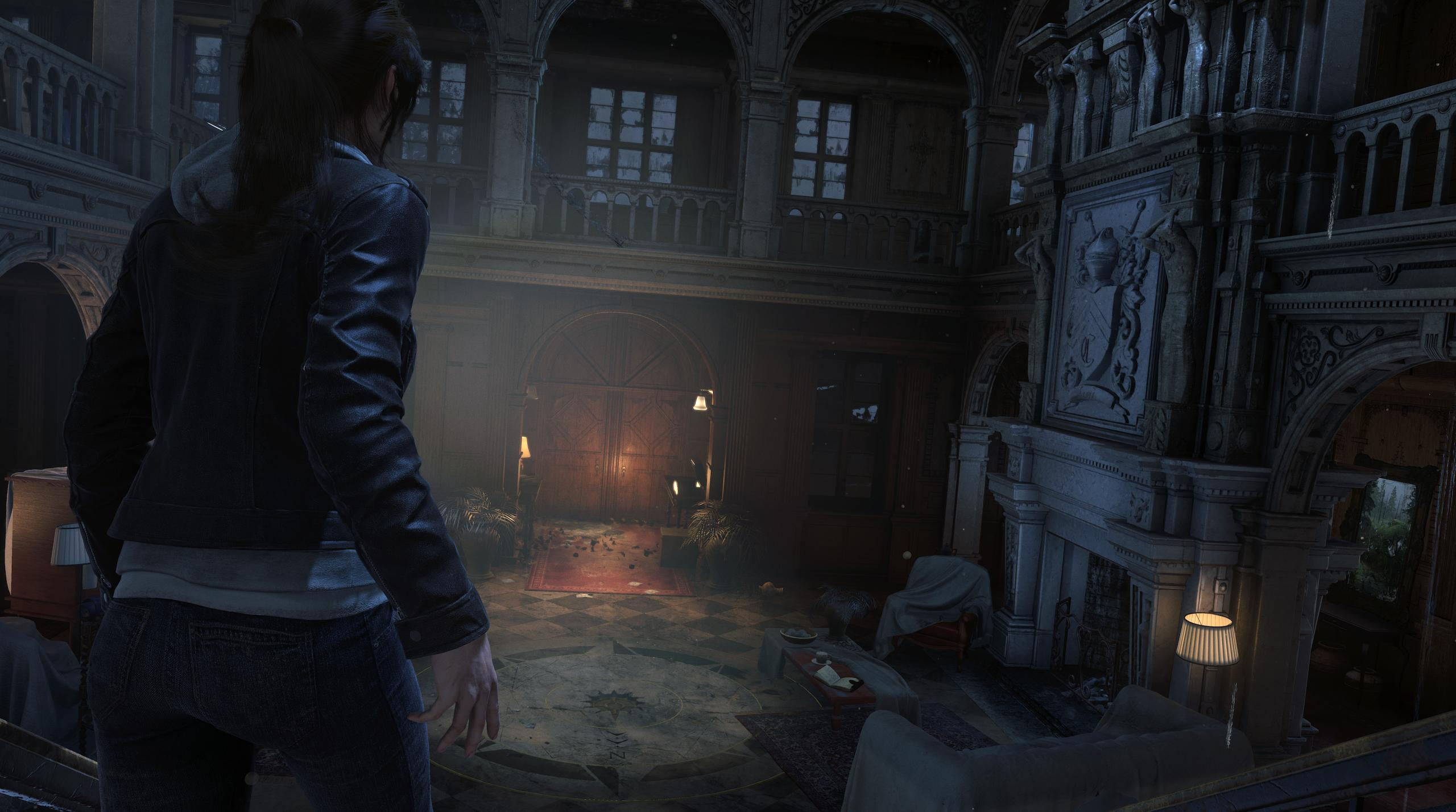 The Croft Manor Dlc For Rise Of The Tomb Raider Is Full Of Easter