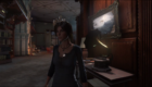 The music player in the study plays a song from Tomb Raider 2.