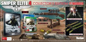 Confirmed Collector's Edition for Sniper Elite 4