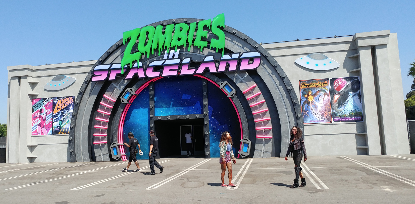 zombies in spaceland how to win